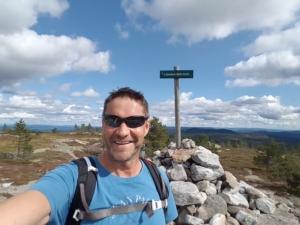 Bjørn Lynne in Norwegian mountainside
